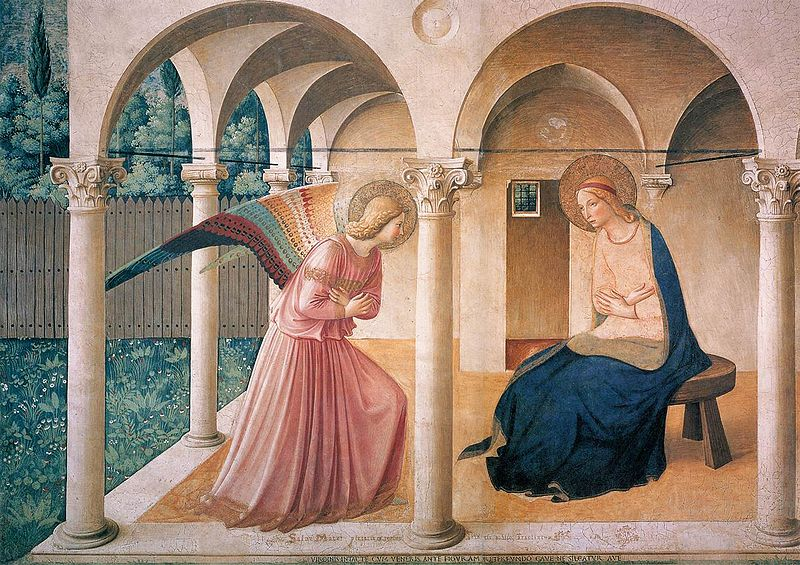 "Fra Angelico's ""Annunciation"""