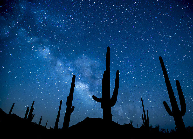 Stars above Arizona