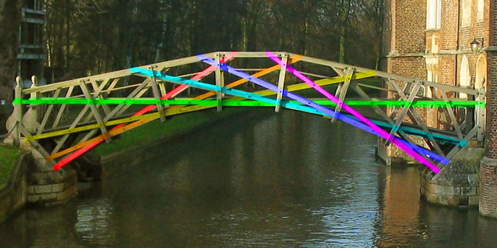 Newton didn't design this bridge.