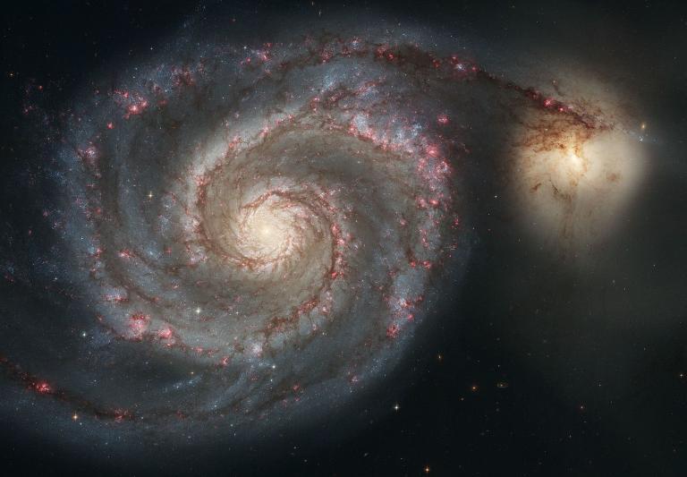 Messier51 and NGC 5195