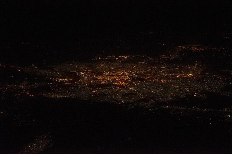 Baghdad bei Nacht