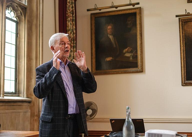 Oxford's Keith Ward