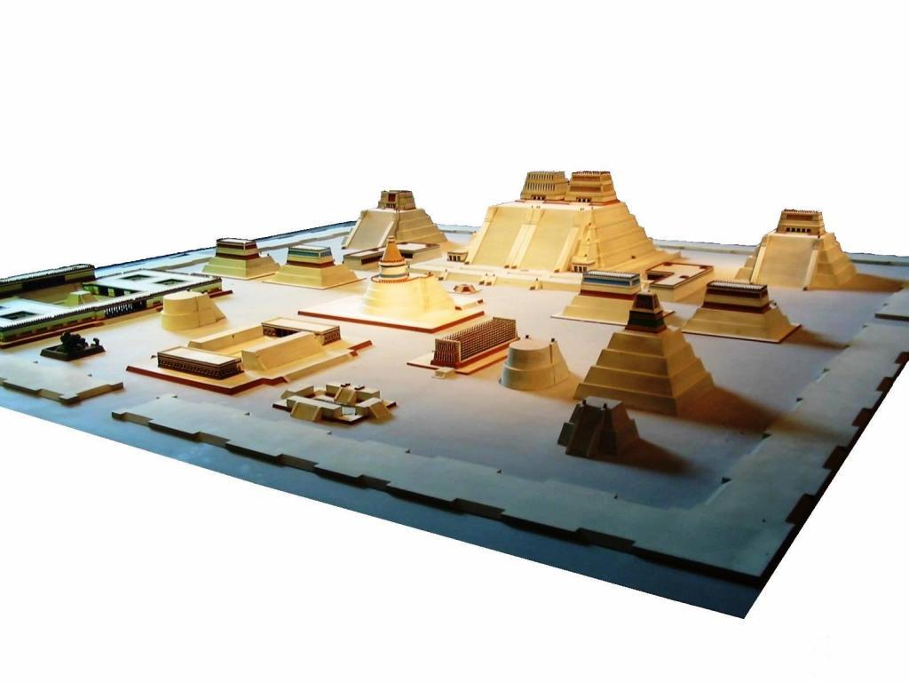 Tenochtitlan, temple district