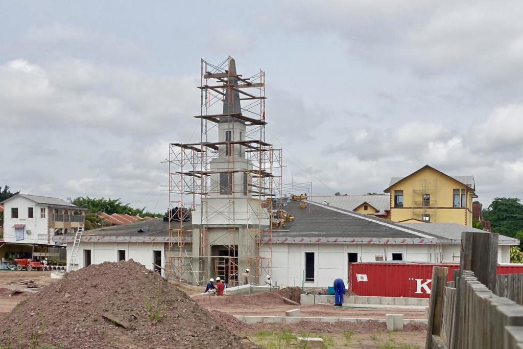 Jeff Bradshaw's photo of the Kinshasa Temple