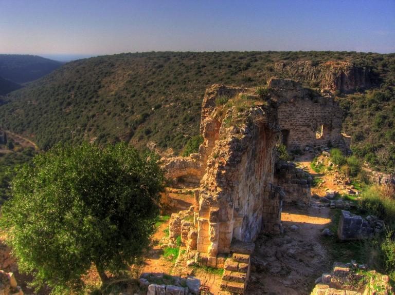 Montfort, western Galilee