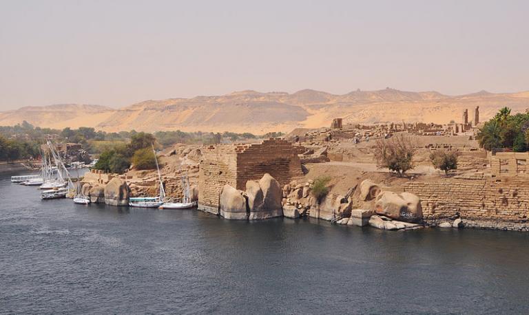 Elephantine, Aswan, Egypt