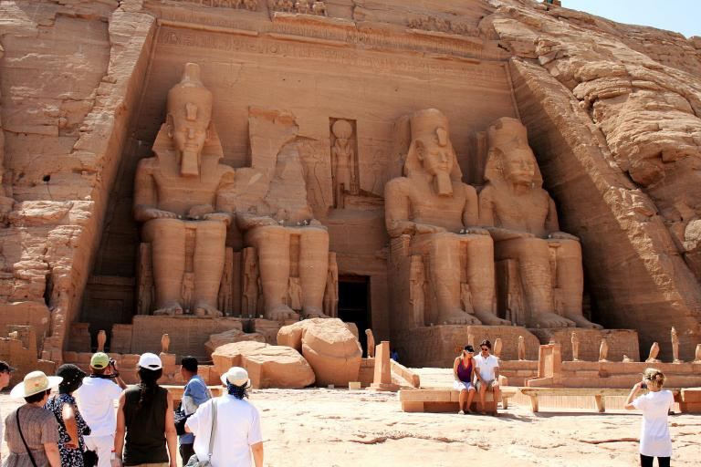 Abu Simbel by day