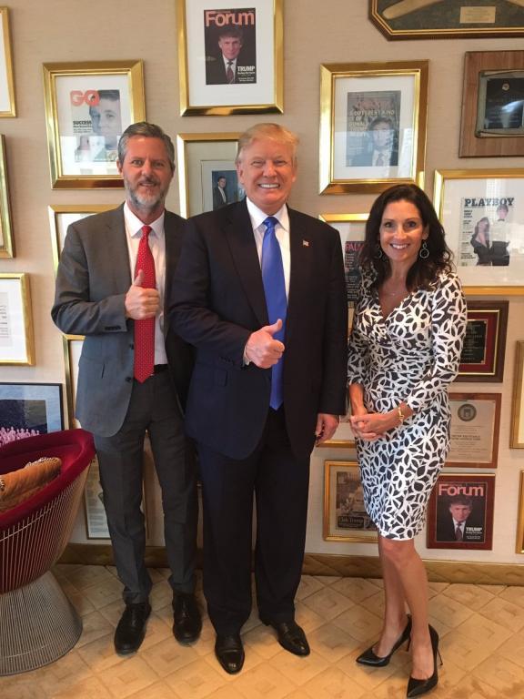 Trump, Playboy, and Becki Falwell