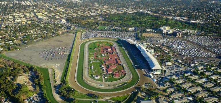 A view from above of Santa Anita