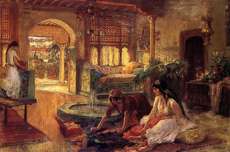 Bridgman orientalist art