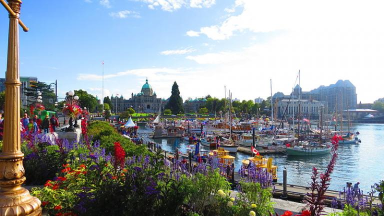 Inner Harbour with Parliament