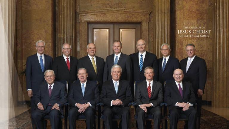 The current Council of the Twelve
