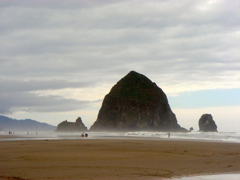The Haystack, south of Seaside, Oregon