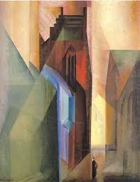 """Feininger, """"Gate Tower II"""""""