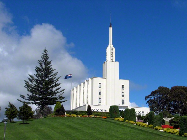Aotearoa's first and, thus far, only temple