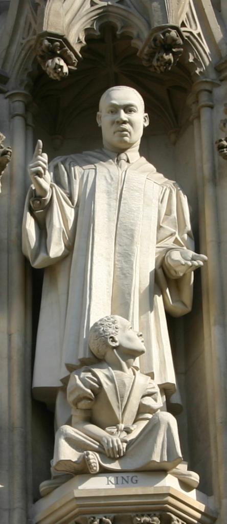 MLK Jr. on Westminster Abbey