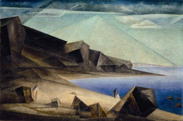 "Feininger's ""High Shore"""
