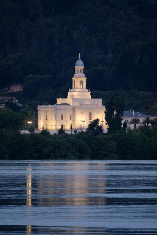 The Church's newest temple -- for a few weeks, at least.