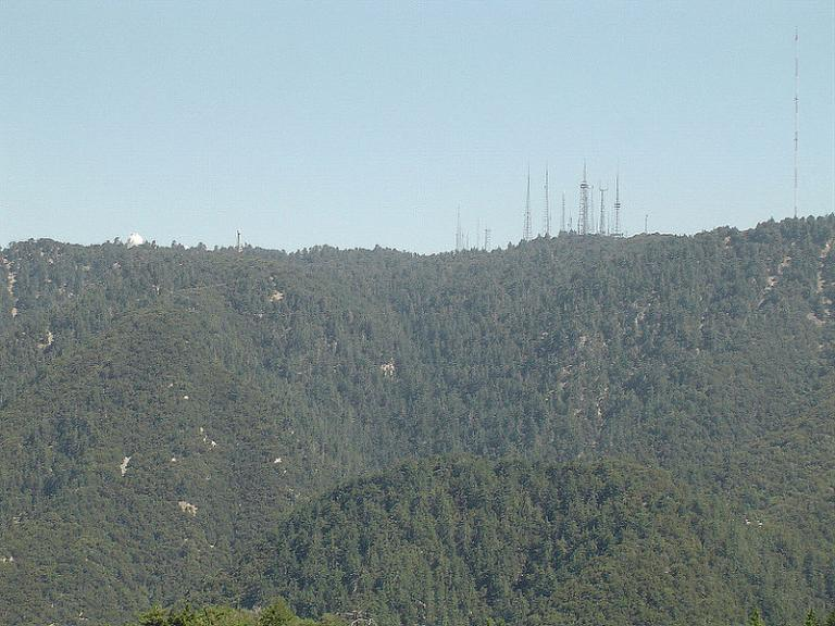 Mount Wilson's array