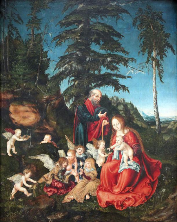 Holy Family en route to Alexandria