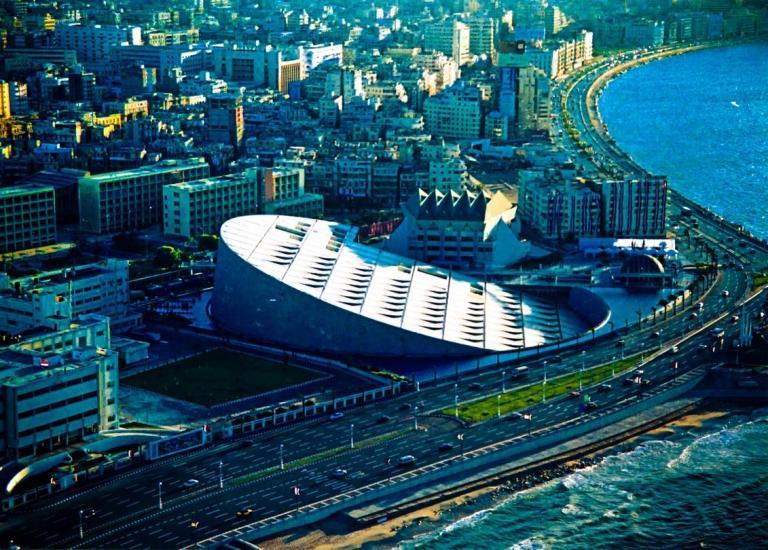 Alexandria's new library