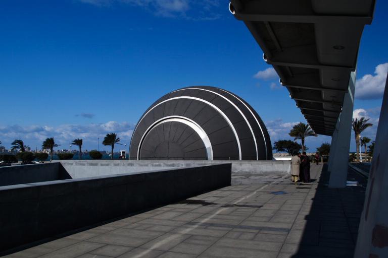Alexandria's planetarium