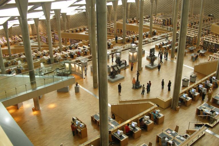BA's main reading room