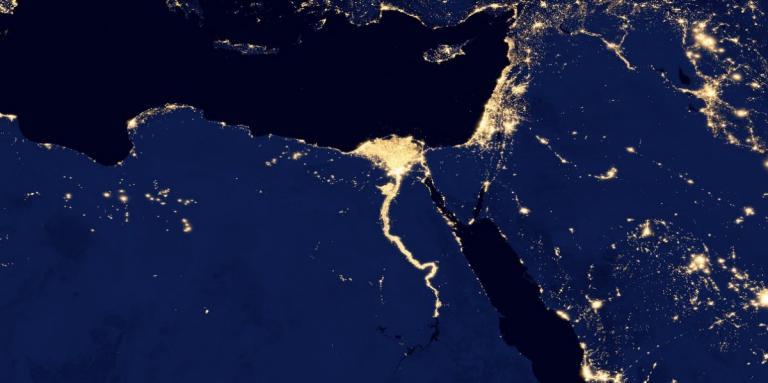 NASA/NOAA, Egypt from space