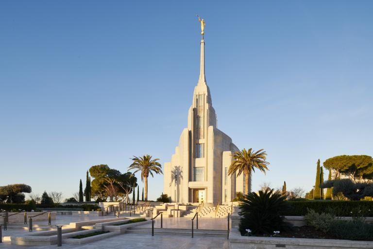 The new Rome Italy Temple