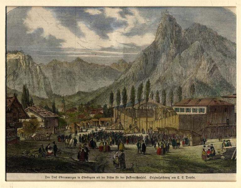 Doepler 1860 Oberammergau image