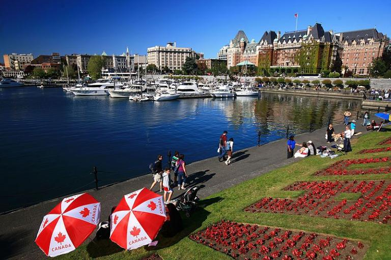 Victoria BC on a beautiful day