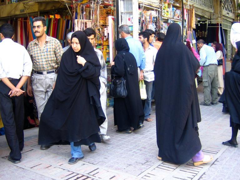 Shirazi chadors
