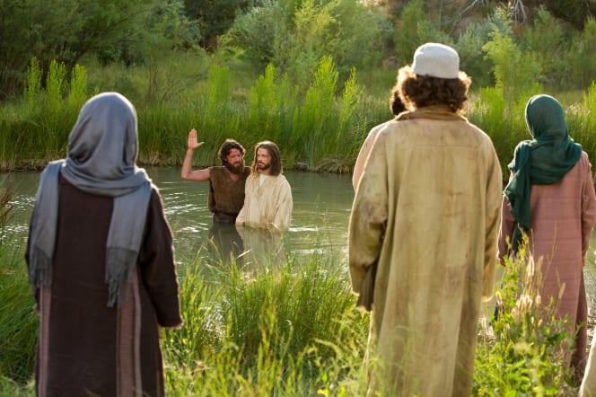John w/Jesus in Jordan