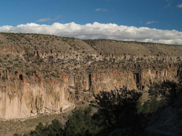 Near Los Alamos, in the Jemez Mountains