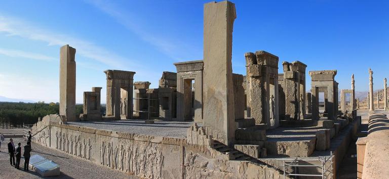 At Persepolis