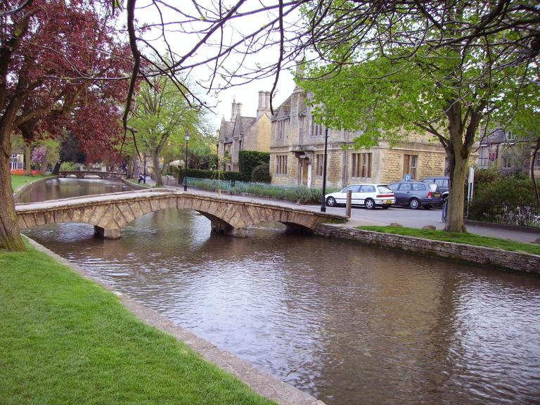 We're staying in the Bourton Croft