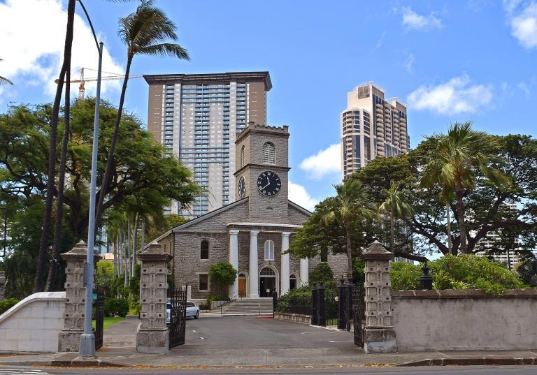 Prominent old Honolulu church