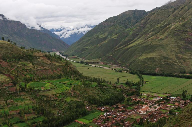 Near Pisac, in the Sacred Valley