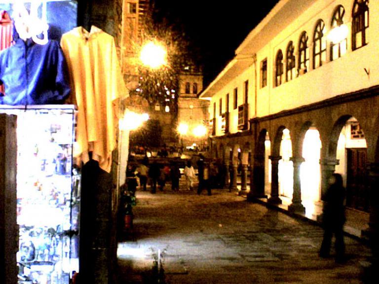 Cusco back alley