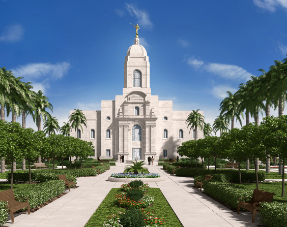 It will be Peru's third temple