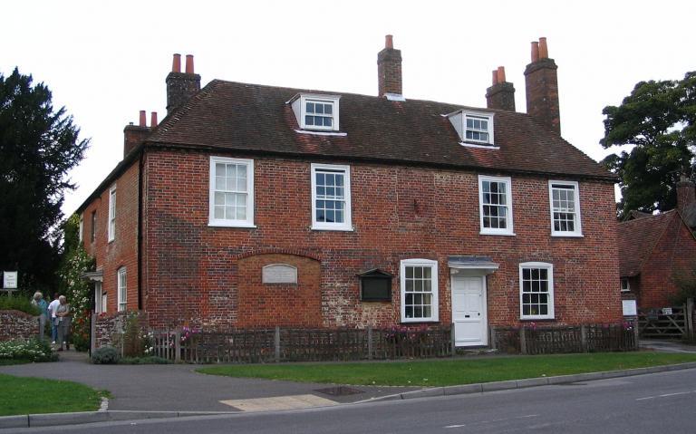 Austen's last house