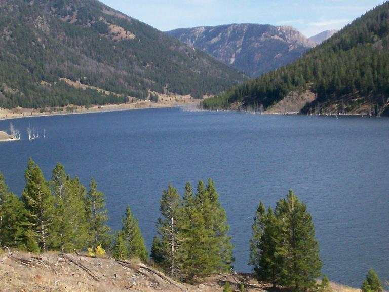 Quake Lake fifteen years ago