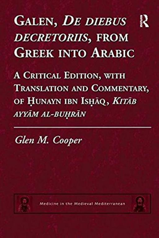 """Greek Into Arabic"""