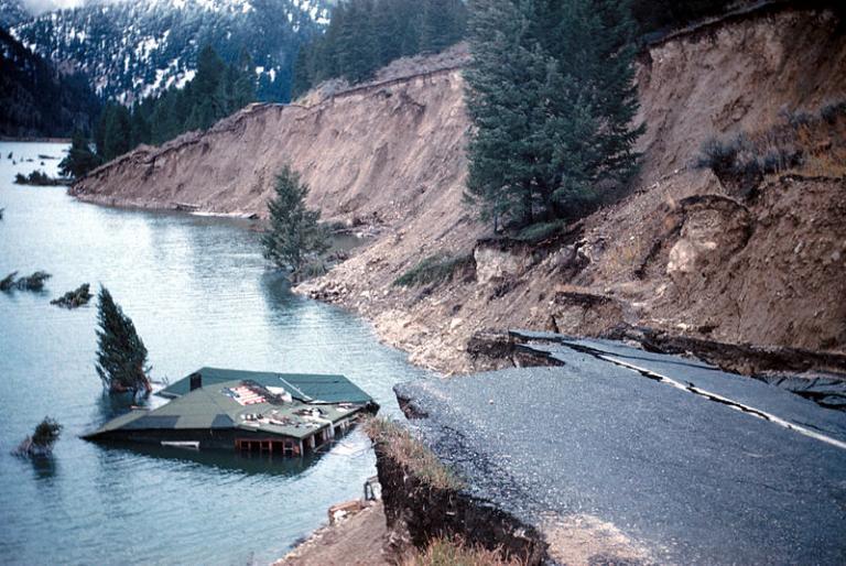 Near Earthquake Lake, Montana