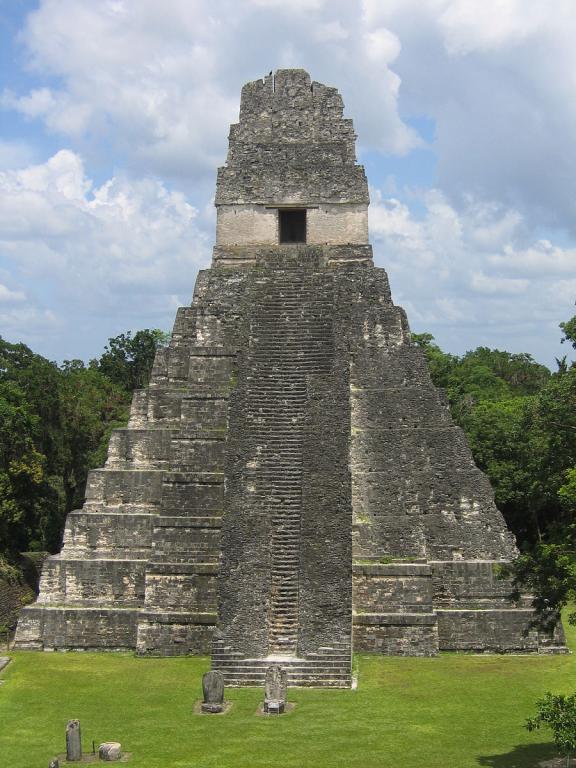 Tikal's Temple 1