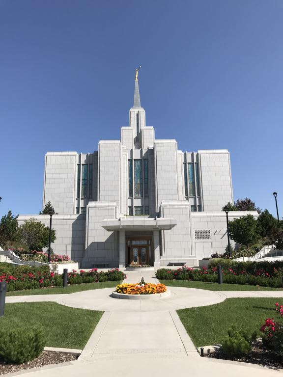 Calgary Temple from south