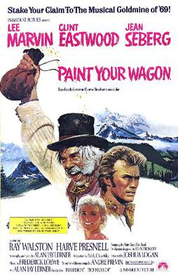 Paint Your Wagon film poster