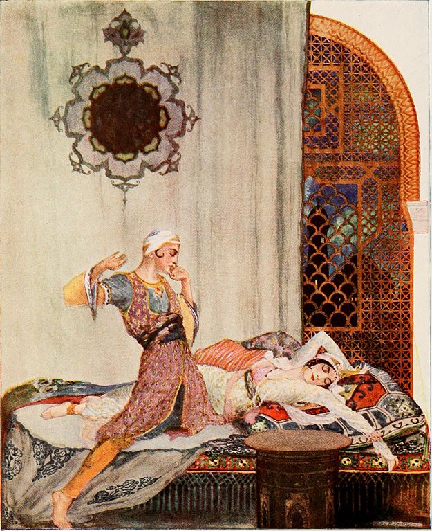 From Lane's 1001 Nights in 1915
