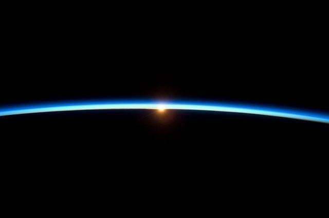 NASA photo of terrestrial atmosphere