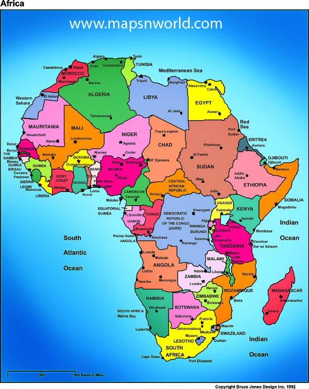 Africa in colors!